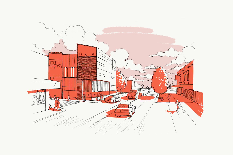 文化社区Outline房地产vi设计,图形设计