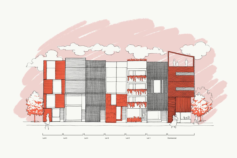 文化社区Outline房地产vi设计,绘画设计