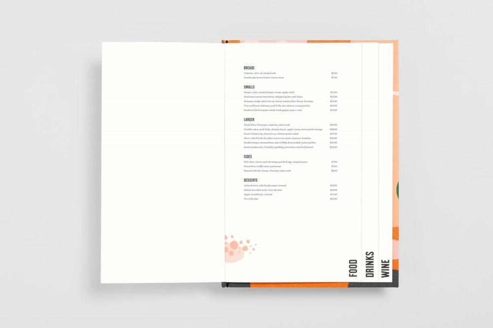 餐厅品牌VI设计,餐牌设计封面