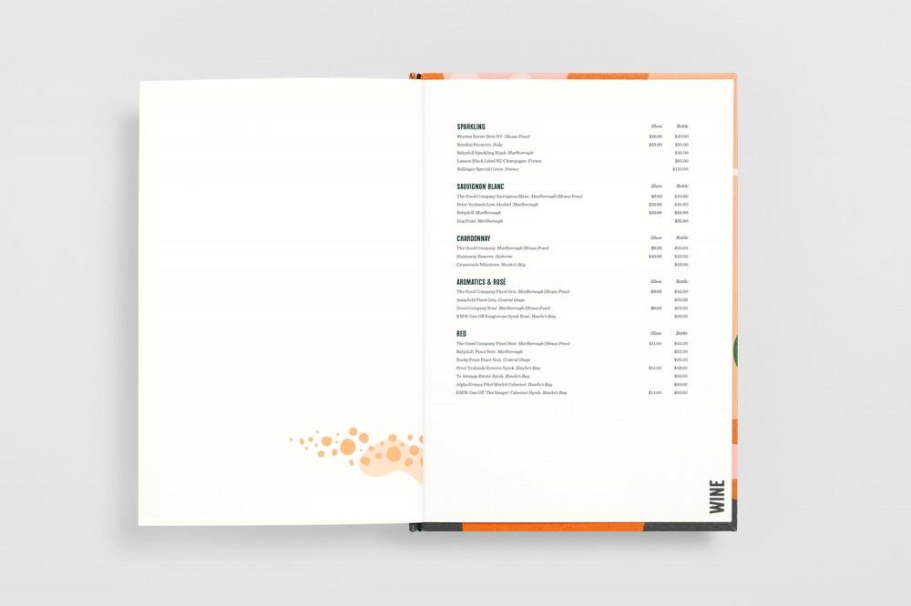 餐厅品牌VI设计,餐牌设计内页
