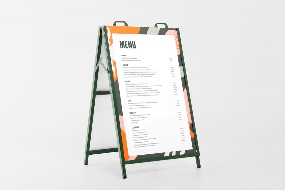 餐厅品牌VI设计,户外招牌