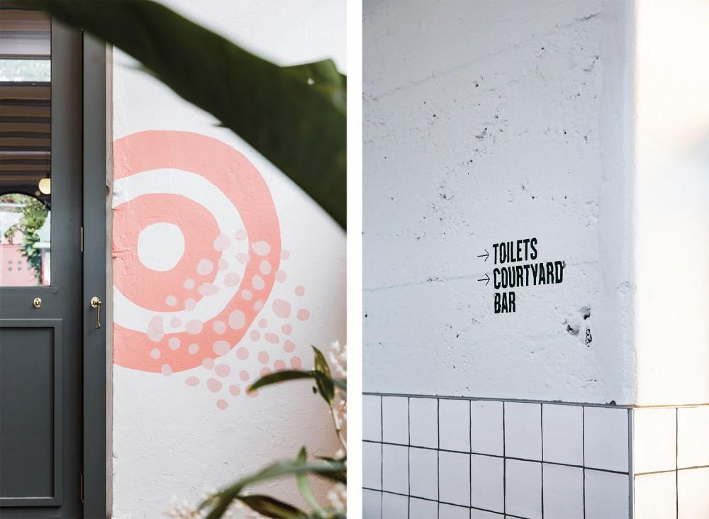 餐厅品牌VI设计, 导视设计