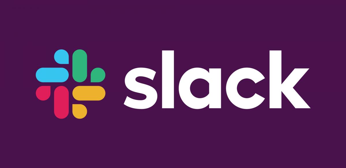 Slack品牌形象设计分析,logo彩色反白应用