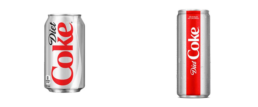 无糖无热量健怡可乐vi品牌形象设计,包装设计