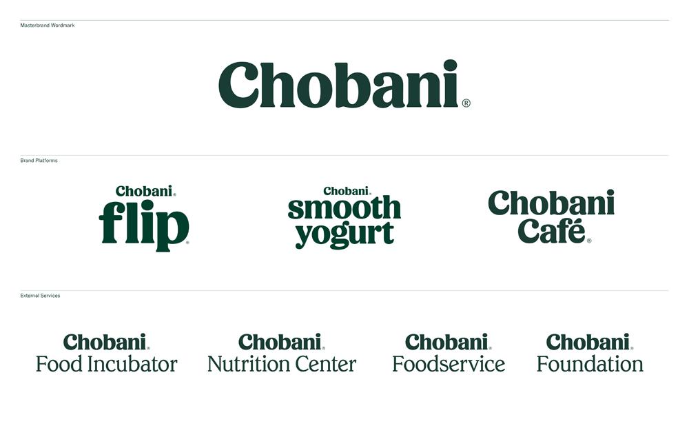 Chobani品牌形象升级的意义,品牌架构设计