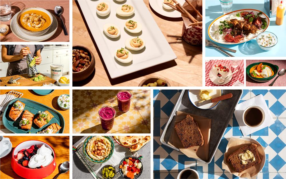 Chobani品牌形象升级的意义,烹饪场景摄影