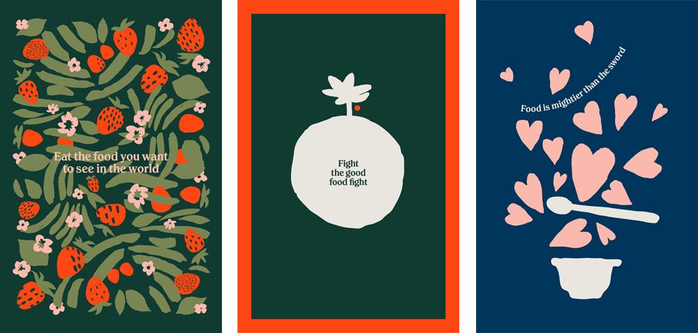Chobani品牌形象升级的意义,品牌海报设计