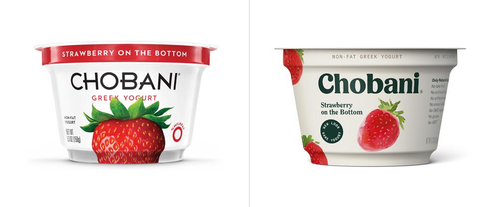 Chobani品牌形象升级的意义,包装设计