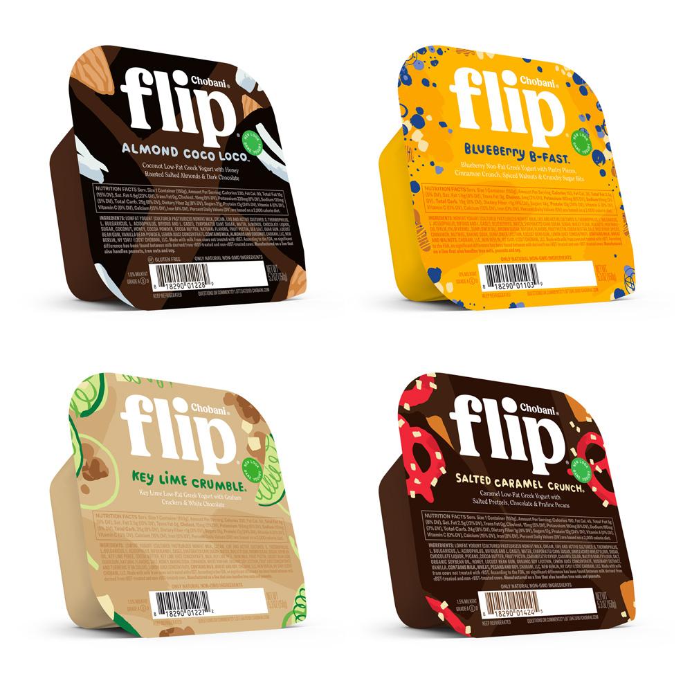 Chobani品牌形象升级的意义, 系列产品包装设计