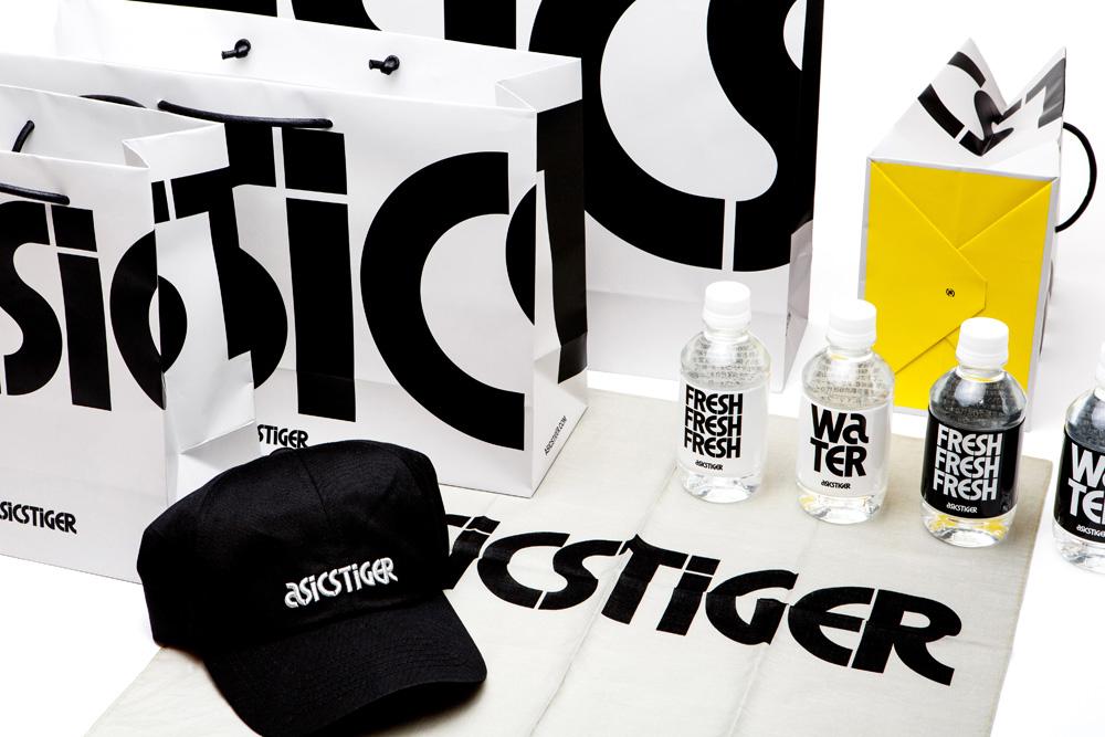 ASICS Tiger服装品牌设计vi升级改造分析, 手提袋,市场推广物料设计