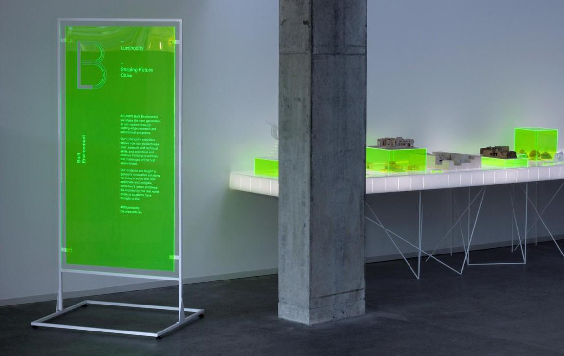 东京UNSW环境建筑公司视觉识别系统设计, 海报设计