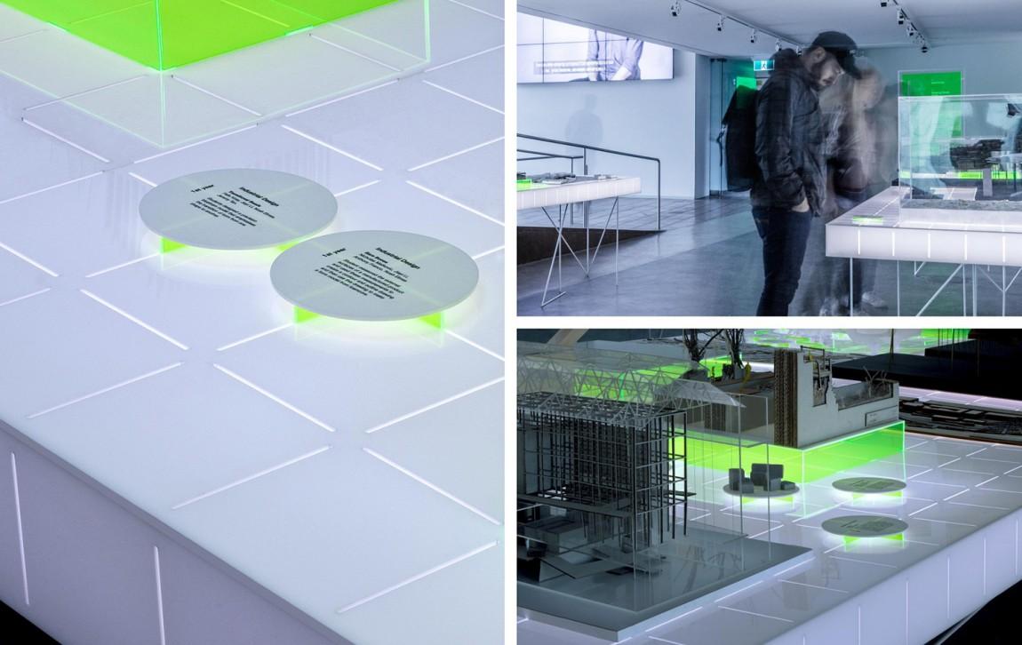 东京UNSW环境建筑公司视觉识别系统设计, 展示设计