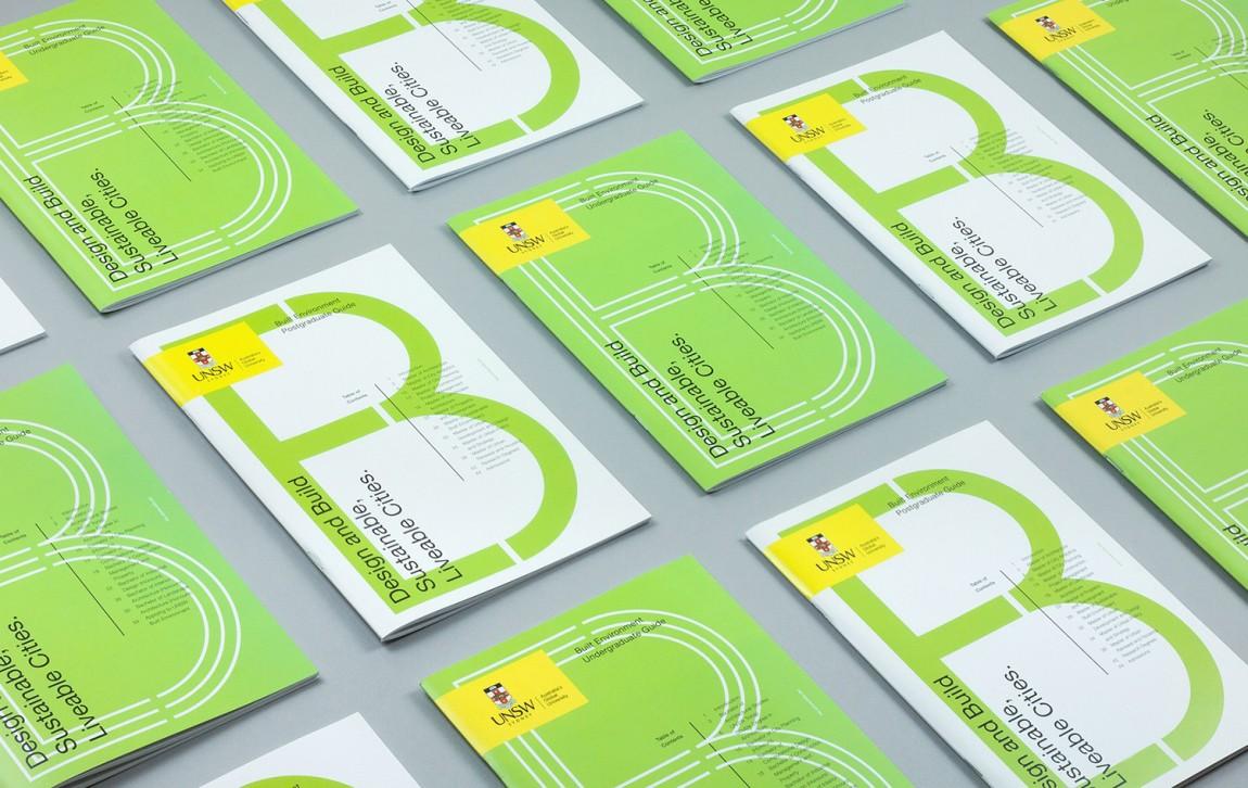 东京UNSW环境建筑公司视觉识别系统设计, 广告设计