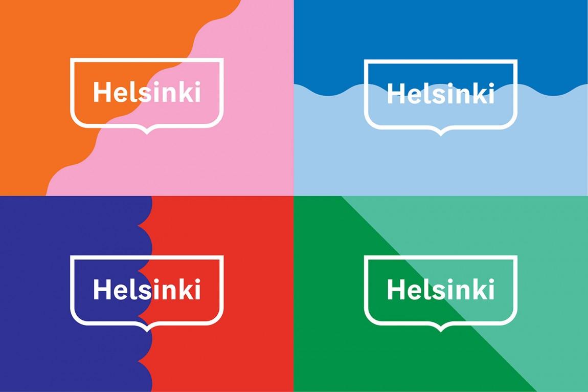 Helsinki芬兰赫尔辛基城市形象设计, logo表现