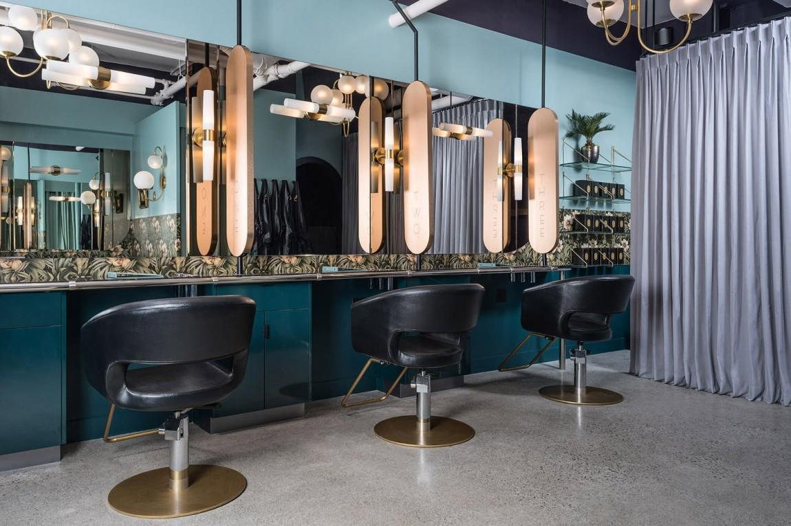 奢华化妆造型沙龙品牌形象全案设计,空间设计