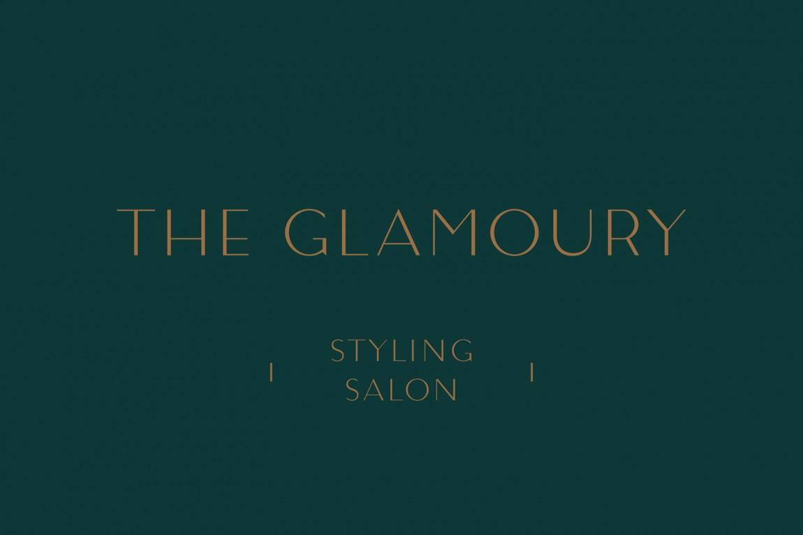 奢华化妆造型沙龙品牌形象全案设计,标志设计