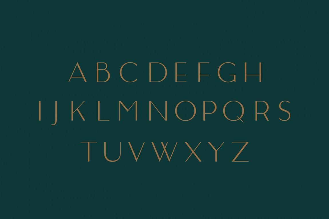 奢华化妆造型沙龙品牌形象全案设计, 字体设计