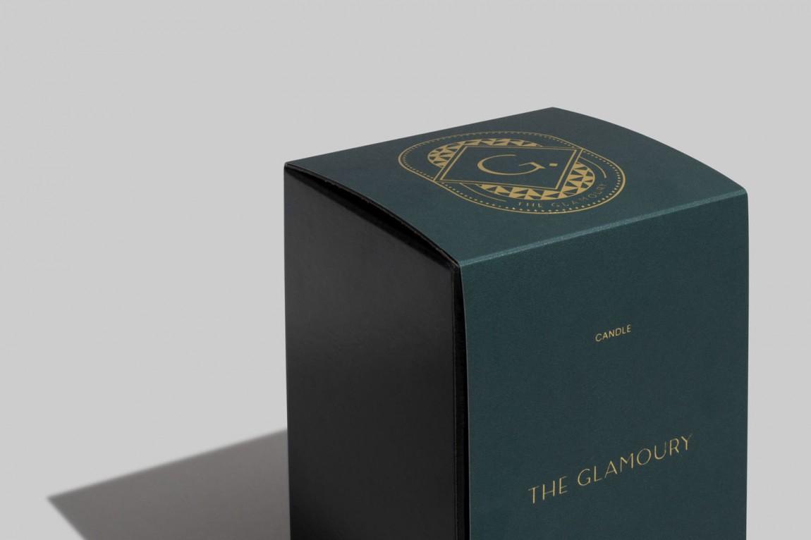 奢华化妆造型沙龙品牌形象全案设计,包装设计