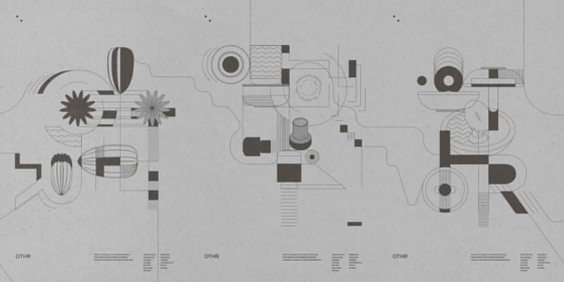产品设计公司企业形象设计案例,辅助图形设计