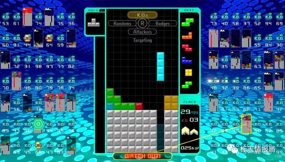 游戏鼻祖俄罗斯方块推出全新LOGO设计