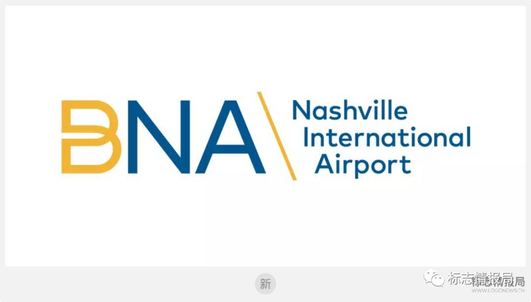 纳什维尔国际机场(BNA)logo设计