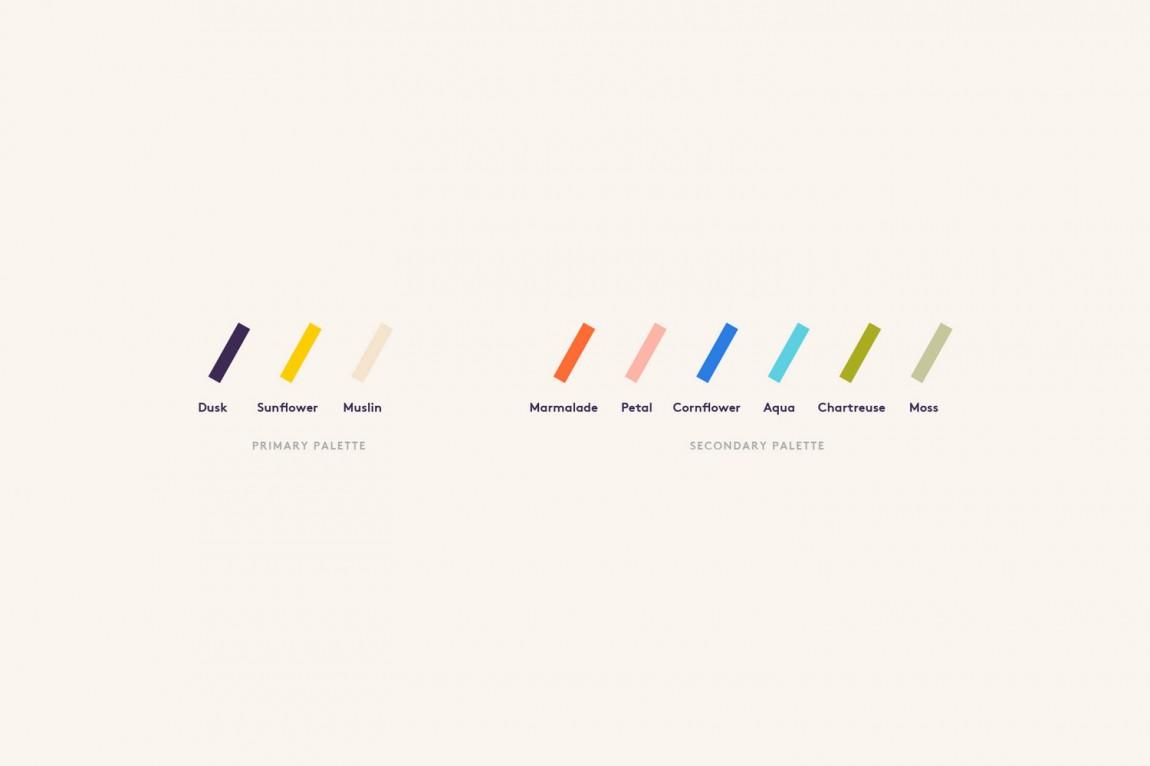 Prism的logo设计和品牌标识鉴赏,品牌设计色带