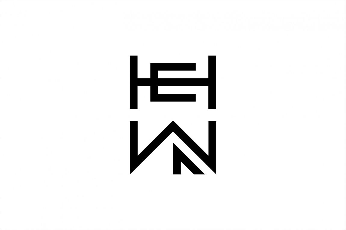 HEWN 创意品牌logo设计:logo设计