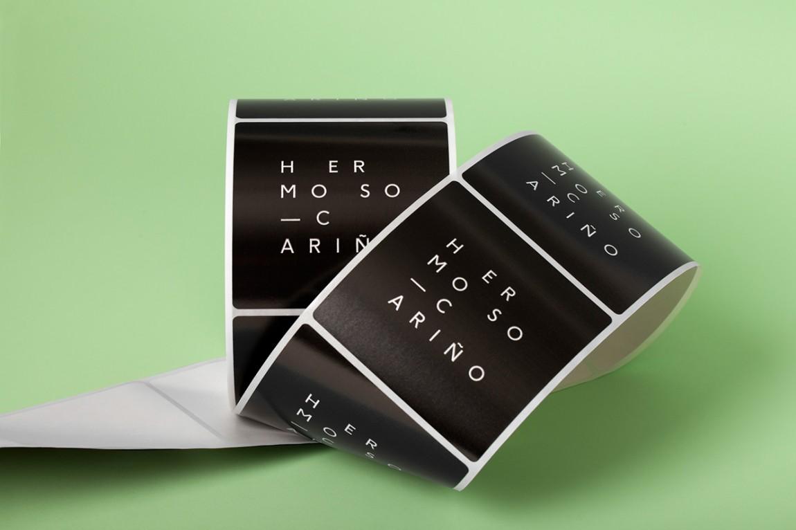 Hermoso Cariño 创意品牌logo设计:标签设计