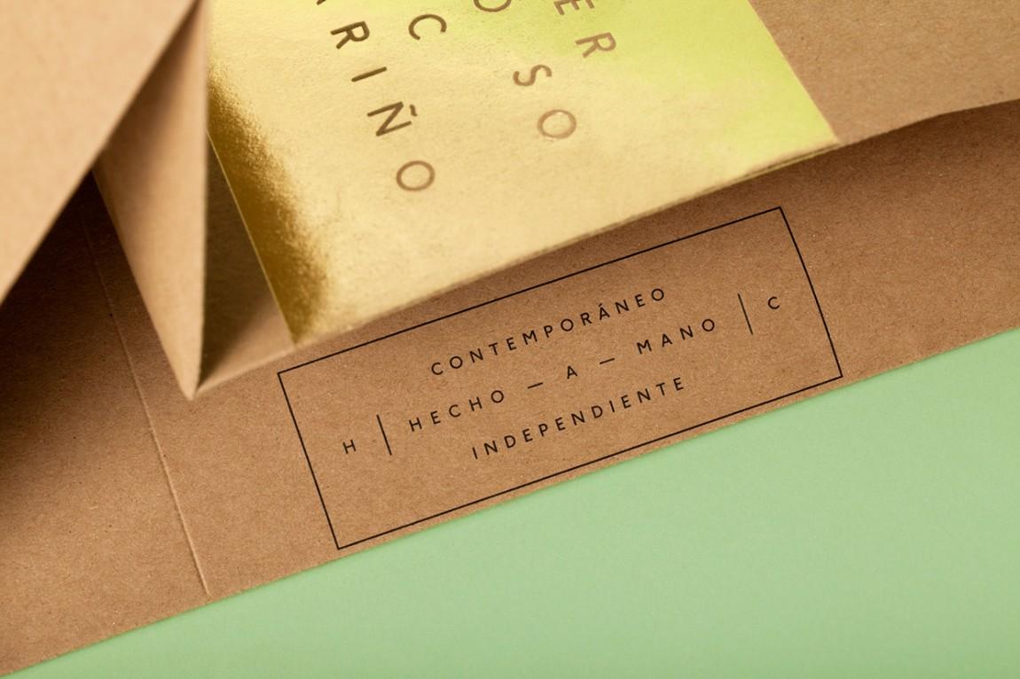 Hermoso Cariño 创意品牌logo设计:手提袋设计