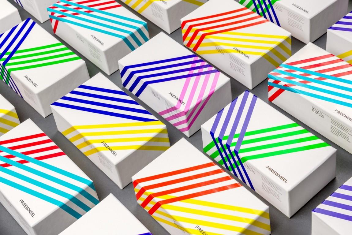 Freewheel品牌视觉形象设计,VI设计,包装设计