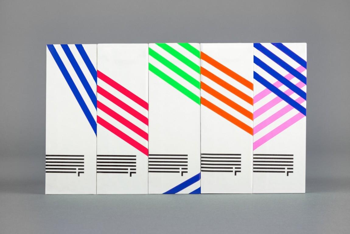 Freewheel品牌视觉形象设计,VI设计, 包装设计陈列效果