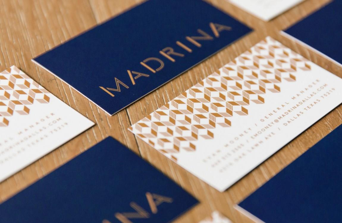 餐厅品牌视觉形象设计, 名片设计