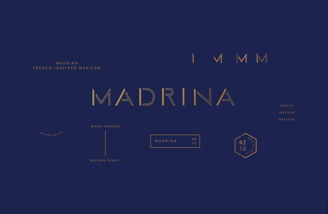 餐厅品牌视觉形象设计, 字体设计