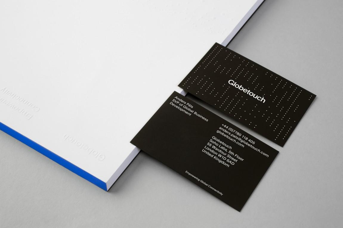 Globetouch通信企业vi视觉形象设计, 名片设计