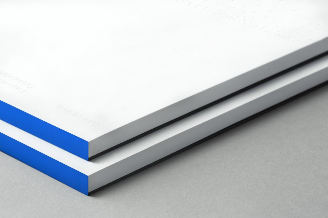 Globetouch通信企业vi视觉形象设计, 画册装订
