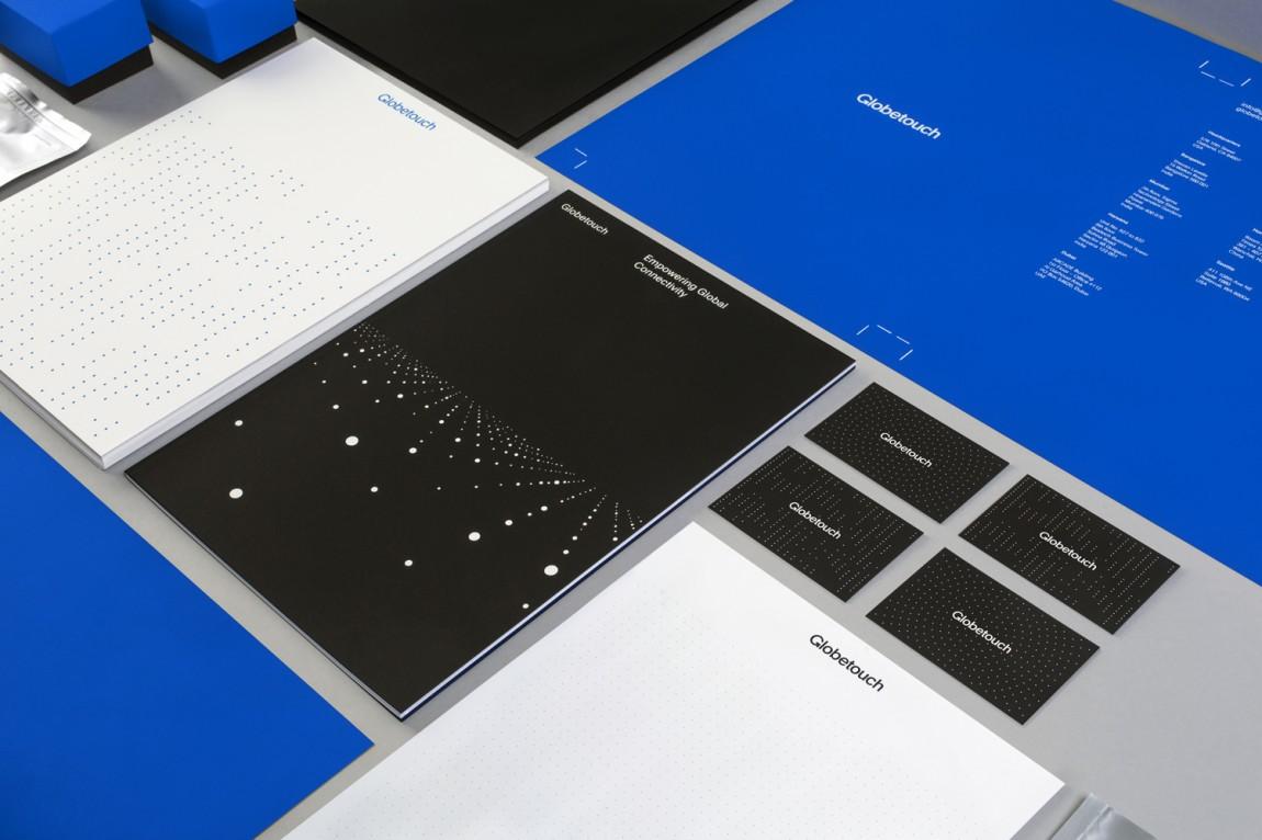 Globetouch通信企业vi视觉形象设计, 整体品牌形象设计