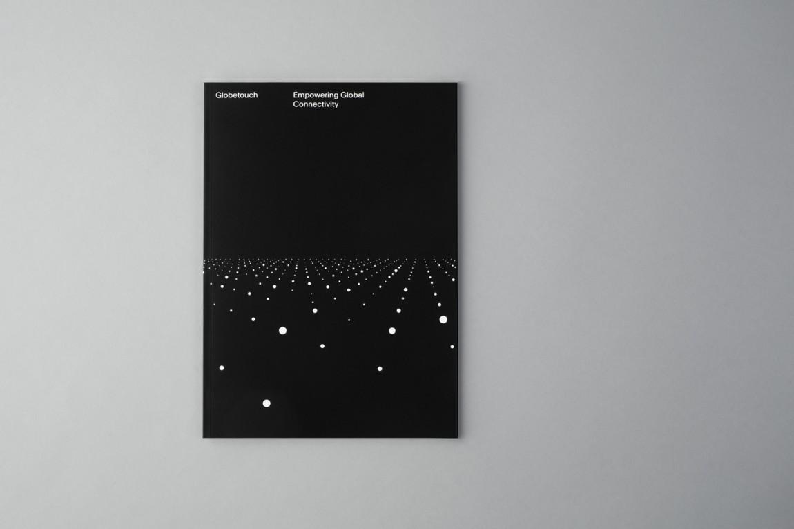Globetouch通信企业vi视觉形象设计, 画册设计
