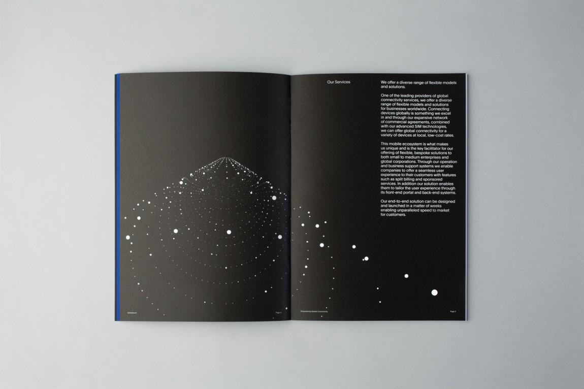 Globetouch通信企业vi视觉形象设计, 企业画册设计