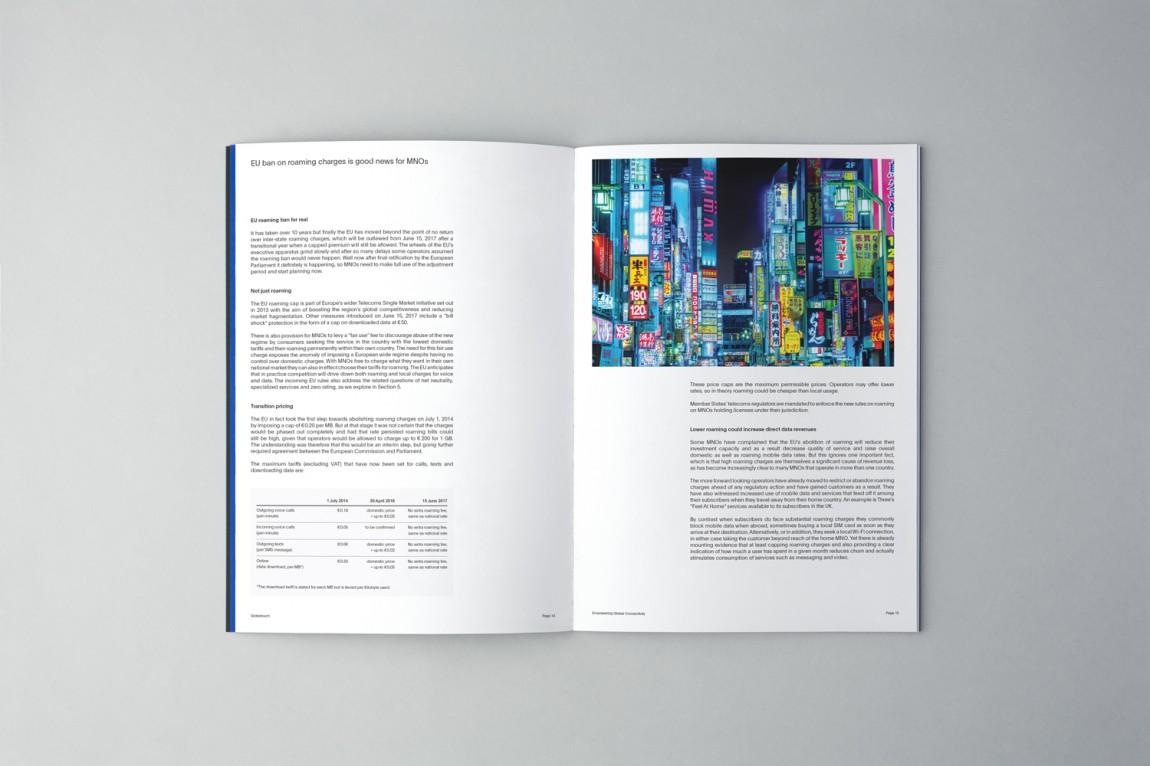 Globetouch通信企业vi视觉形象设计, 公司画册设计