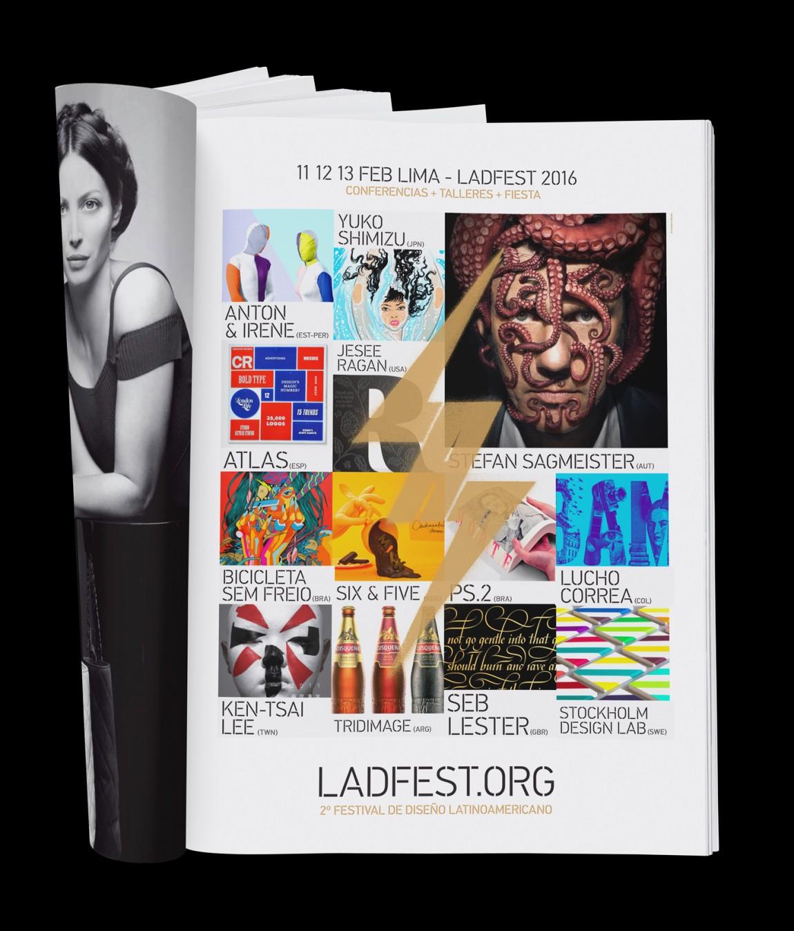 2016拉丁美洲设计节品牌设计,品牌设计,印刷品