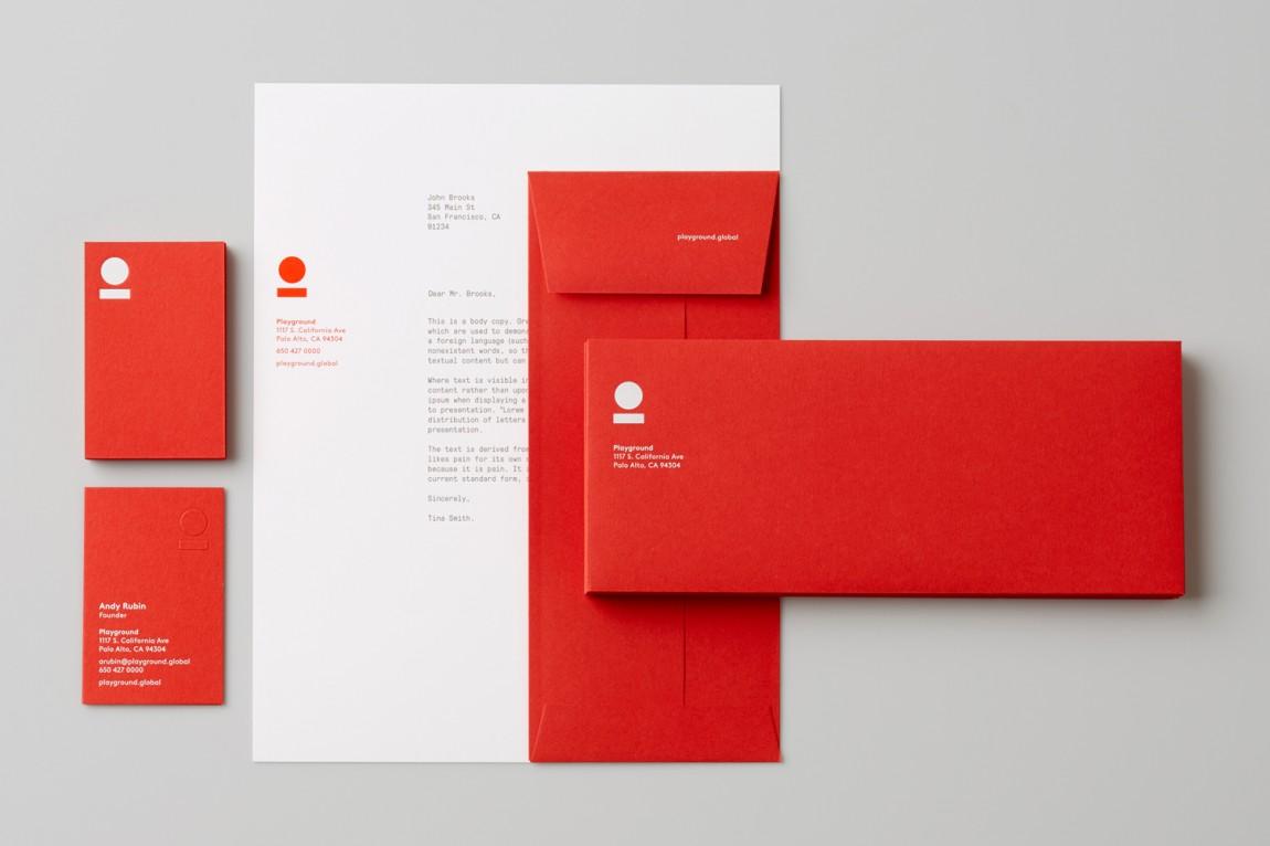 美国Playground 创意品牌logo设计:纸张设计