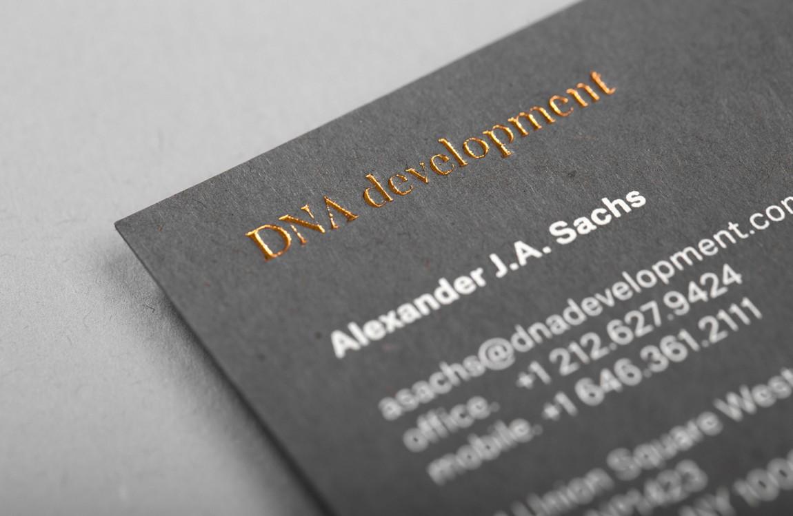 DNA Development 创意品牌logo设计:名片设计