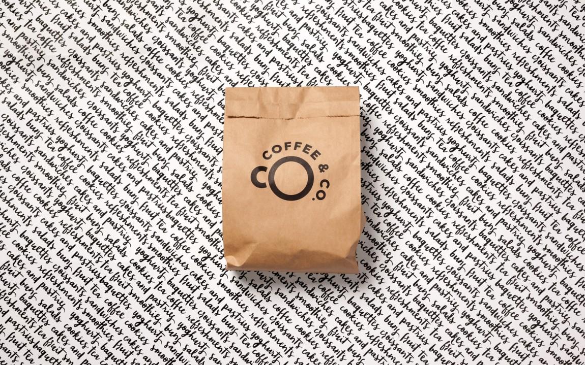 Coffee & Co.创意品牌logo设计:包装设计