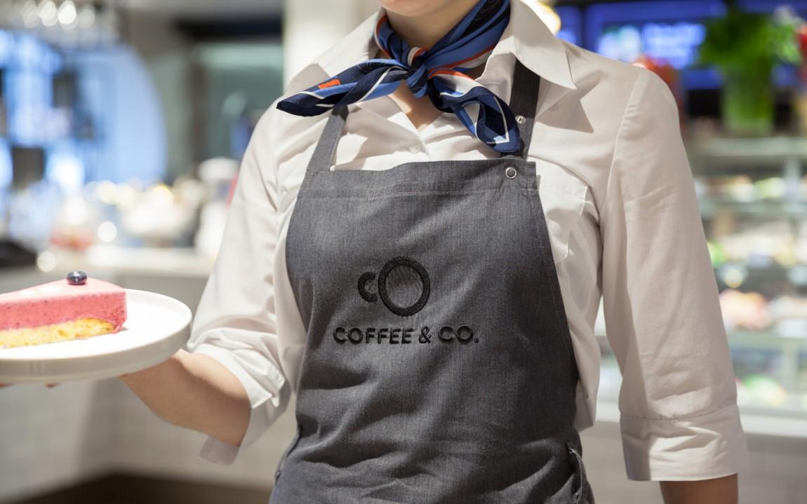 Coffee & Co.创意品牌logo设计:围裙设计