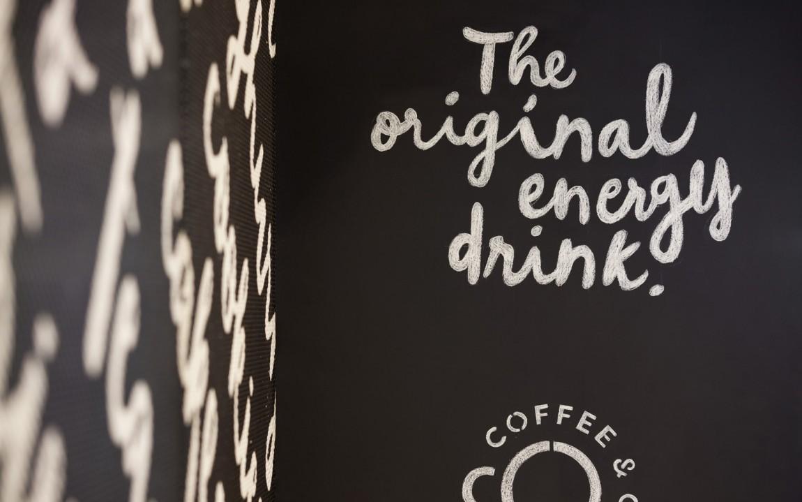 Coffee & Co.创意品牌logo设计:咖啡店空间设计