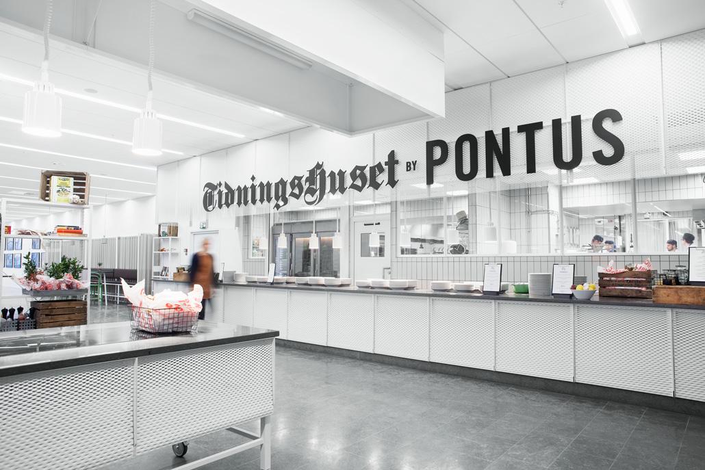 Tidningshuset熟食店面包房餐厅vi设计 ,餐饮品牌设计,空间设计