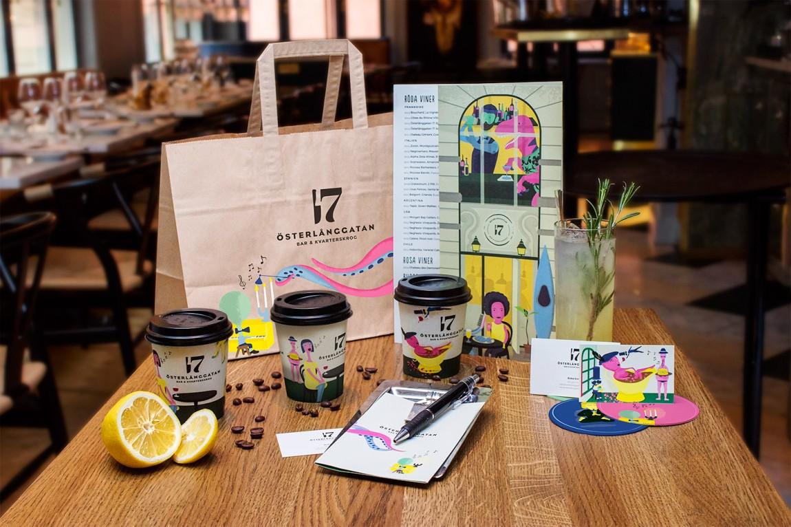 创意餐饮品牌设计, VI设计,手提袋设计