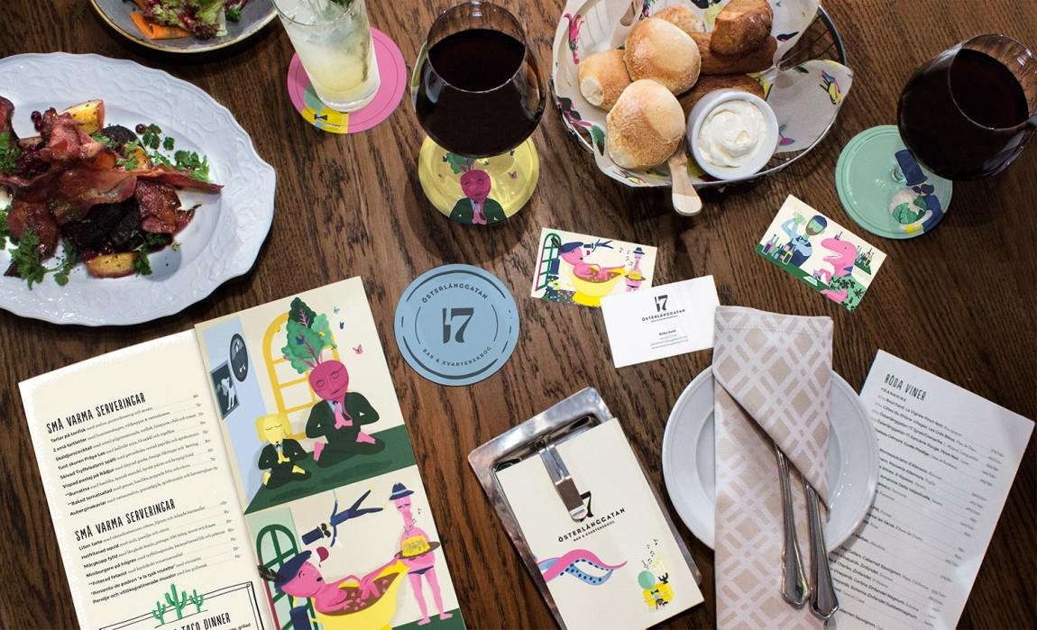 创意餐饮品牌设计, VI设计,品牌形象设计