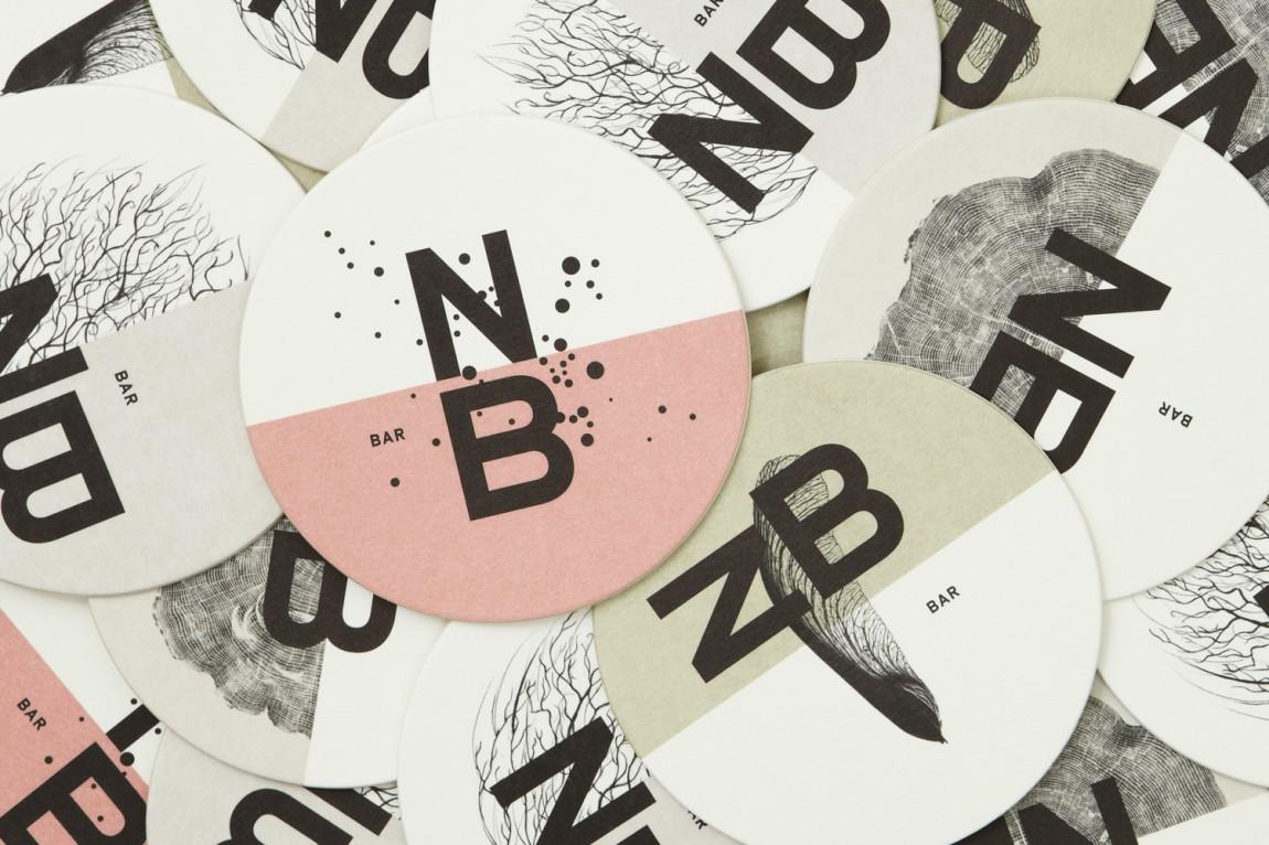 Nota Bene 创意品牌logo设计:便签纸设计