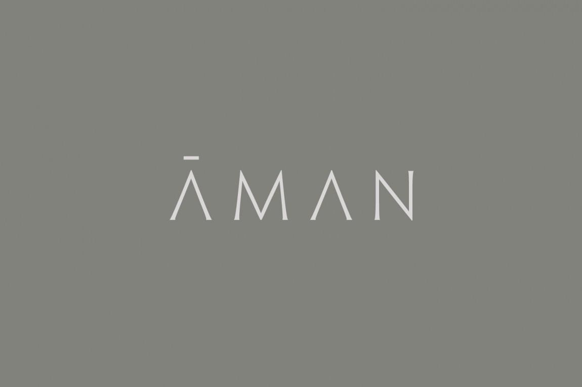 Aman 创意品牌logo设计:logo设计